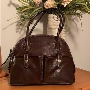 Dooney & Bourke Cameron Florentine Leather Satchel